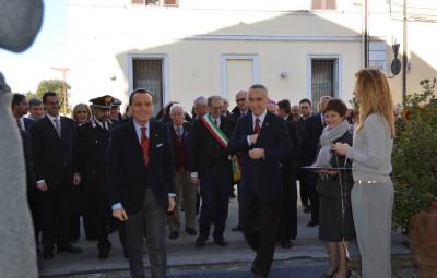 Ferdinando Del Sante e Salvatore Ricca Rosellini Mostra Polio Forlì