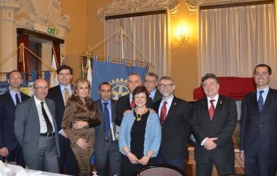 Asta benefica per la polio - Interclub a Forlì - 31 marzo 2015