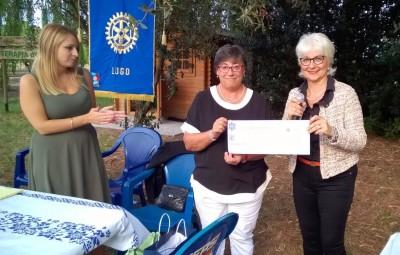 Donazione assegno Fondazione Dopo di noi, Torre di Mezzano (Ra), 9 settembre 2017 (2)
